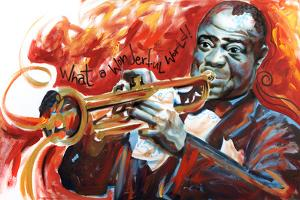 Louis Armstrong: What a Wonderful World by Shen