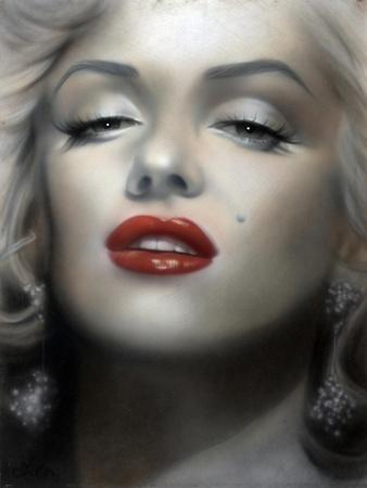 Marilyn: Red Lips
