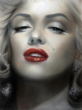 Marilyn: Red Lips by Shen