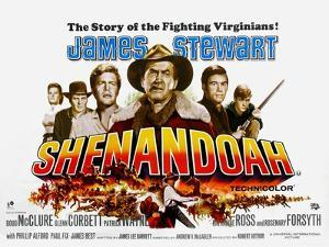 Shenandoah, UK Movie Poster, 1965