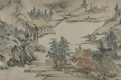 Landscape, Qing Dynasty (1644-1912), Late 17th Century
