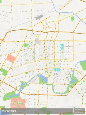 Shenyang, China Map