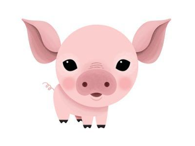 Baby Animals - Pig by Sheree Boyd