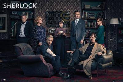 Sherlock- Cast Assembled