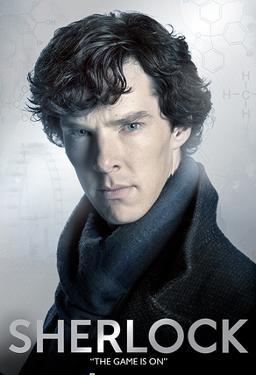 Sherlock - Close Up Foil Poster