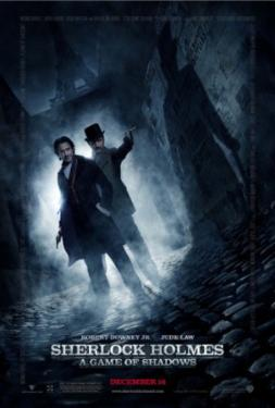 Sherlock Holmes - A Game of Shadows (Robert Downey Jr., Jude Law) Movie Poster