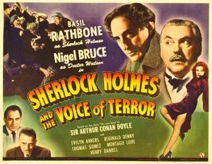 Sherlock Holmes and the Voice of Terror, Thomas Gomez, Reginald Denny, 1942