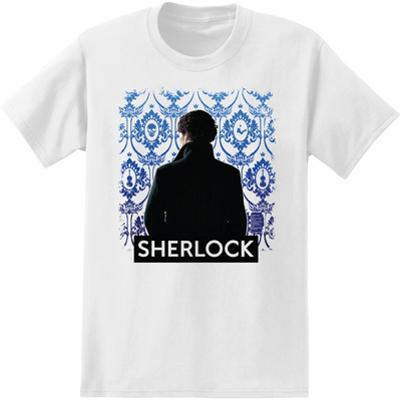 Sherlock - Portrait With Wallpaper
