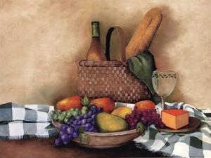 Basket And Bowl by Sherry Masters