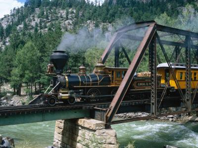 Durango-Silverton Line, CO by Sherwood Hoffman