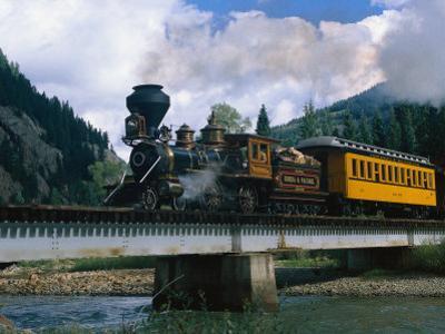 Durango-Silverton Line, CO by Sherwood Hoffman