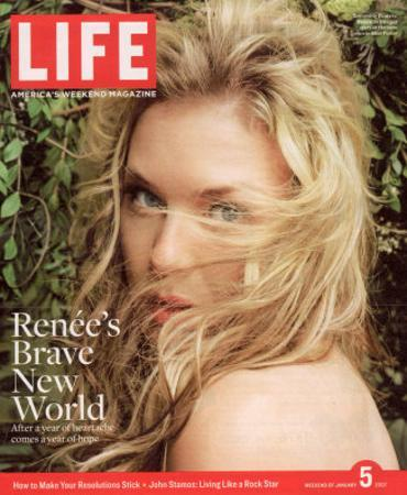 Actress Renee Zellweger, January 5, 2007