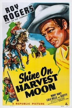 Shine on Harvest Moon, Top Left and Right: Roy Rogers, 1938