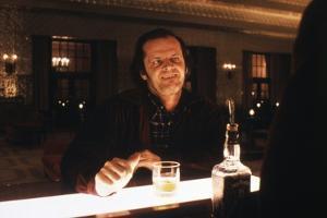 Shining by Stanley Kubrik with Jack Nicholson, 1980 (d\apres StephenKing) (photo)