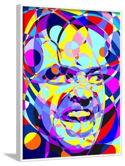 Shining-Cristian Mielu-Framed Art Print