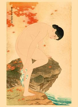 The Fragrance of a Bath by Shinsui Ito