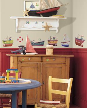Ship Shape Peel & Stick Wall Decals