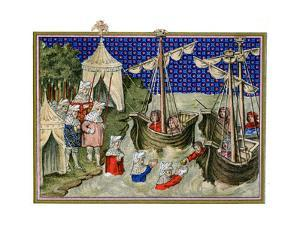 Ships Bringing Provisions to the English Host, Richard Ii's Campaign in Ireland, 1399
