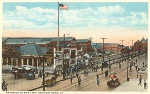 Shipyard, Newport News, Virginia