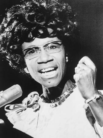 Shirley Chisholm, African American Congresswoman from Brooklyn, New York City