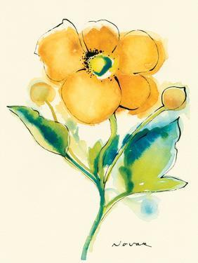 Flores Rojas V by Shirley Novak