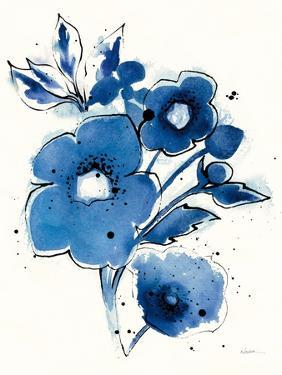 Independent Blooms Blue III by Shirley Novak
