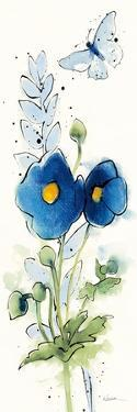 Independent Blooms Blue VI by Shirley Novak