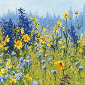 Joyful in July III by Shirley Novak