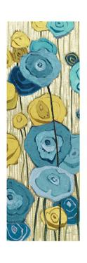 Lemongrass in Blue Panel II by Shirley Novak