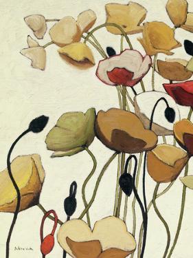 Pavots Ondule I by Shirley Novak