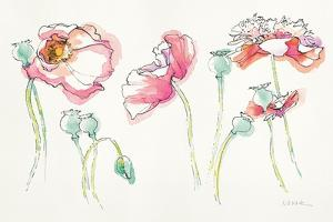 Pink Somniferums Bright by Shirley Novak