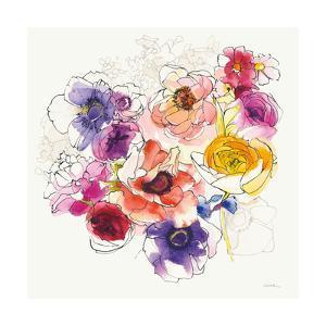 Rainbow Ruffles II by Shirley Novak
