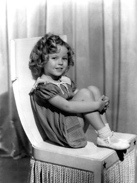 Shirley Temple in Paramount Publicity Photo, 1934