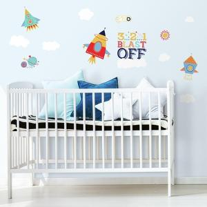 Shoot For The Moon Peel And Stick Wall Decals