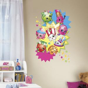 Shopkins Burst Peel And Stick Giant Wall Decals