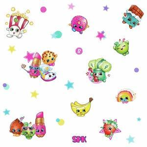 SHOPKINS STARS PEEL AND STICK WALL DECALS