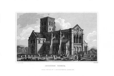Shoreham Church, West Sussex, 1829 by J Rogers