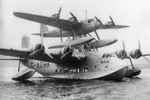 Shorts Seaplane, Dundee to South Africa, 6 October 1938