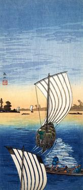 Nagareyama Bay, Japan by Shotei Hokuju