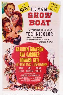 Show Boat, from Top: Howard Keel, Ava Gardner, Kathryn Grayson, 1952