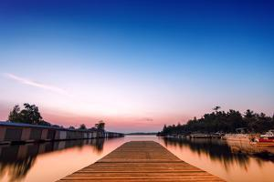 Low Angle Dock on the Bay by SHS Photography