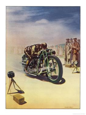 Timing a Motor Cycle by Shuffrey