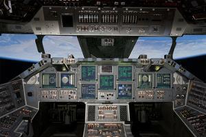 Shuttle Flight Deck