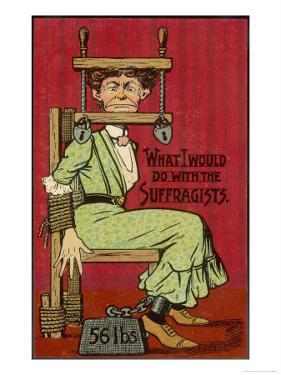 Shuttng up Suffragette