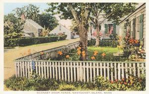 Siasconset Door Yards, Nantucket, Massachusetts