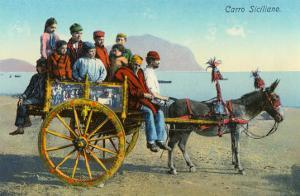Sicilian Cart with Donkey, Italy