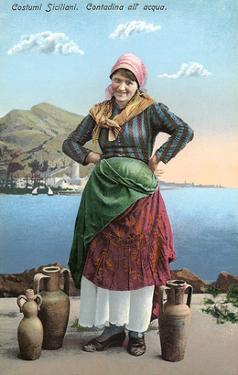 Sicilian Peasant Woman, Italy