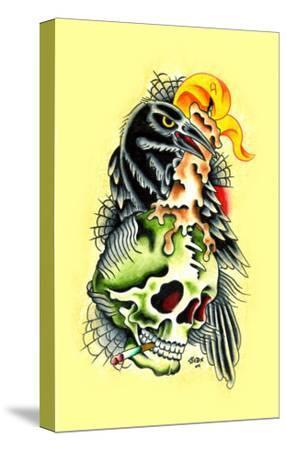 Crow & Skull
