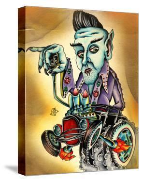 Even Nosferatu likes Elvis by Sid Stankovits