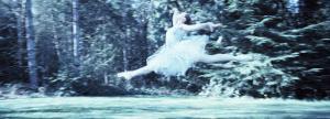 Side Profile of a Female Ballet Dancer